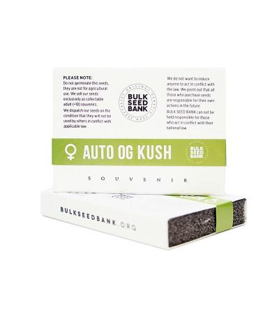 Семена сорта Auto OG Kush fem (Bulk Seed Bank)