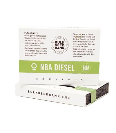 Семена сорта NBA Diesel fem