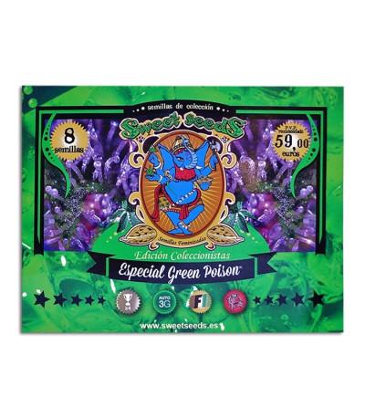 Микс семян конопли Especial Green Poison fem (Sweet Seeds)