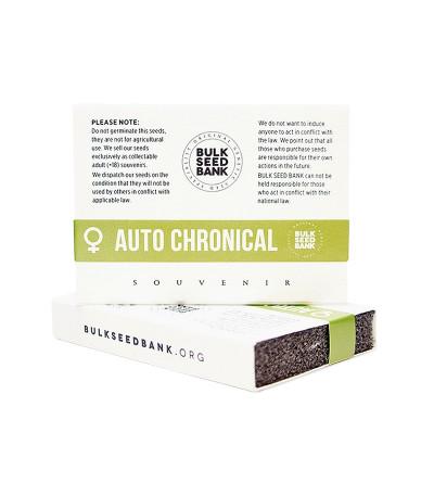 Семена сорта Auto Chronical fem (Bulk Seed Bank)