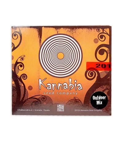 Микс семян конопли Outdoor Mix (Kannabia Seed Company)